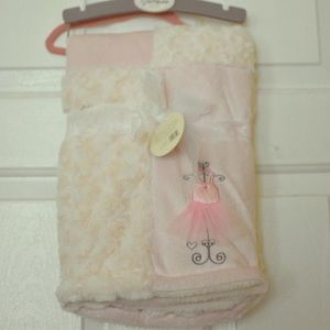 Kyle and Deena baby blanket NWT